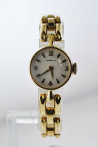 TIFFANY & CO. Vintage 1950's Sold Gold Ladies Bracelet Watch - $12K Appraisal Value! ✓