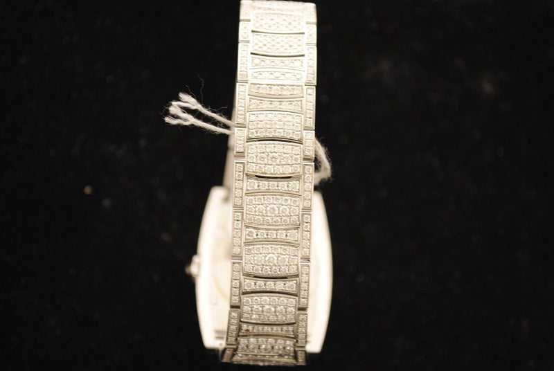 Piaget Lady's Wristwatch in 18K White Gold Covered with Approximately 885 Diamonds - $250K VALUE