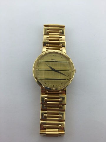 Piaget Men's Dancer Large Wristwatch in 18K Yellow Gold - $40K VALUE
