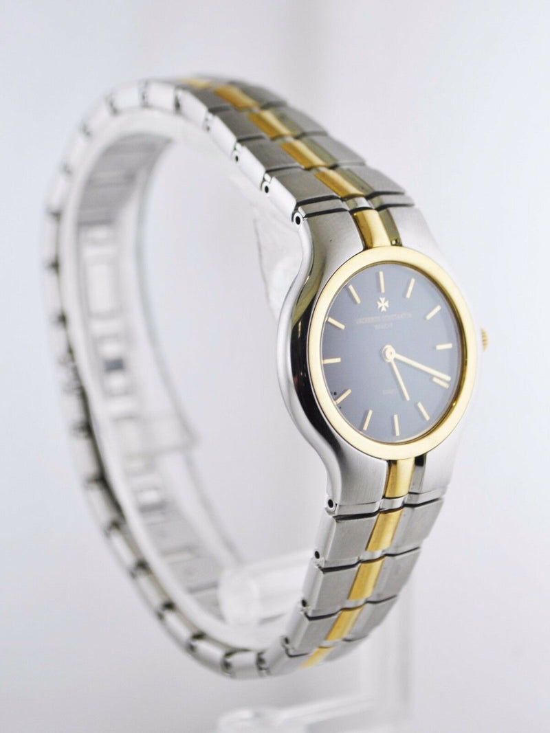 VACHERON CONSTANTIN Phidias Two-Tone 18K Yellow Gold & Stainless Steel Bracelet Watch - $20K Appraisal Value! ✓