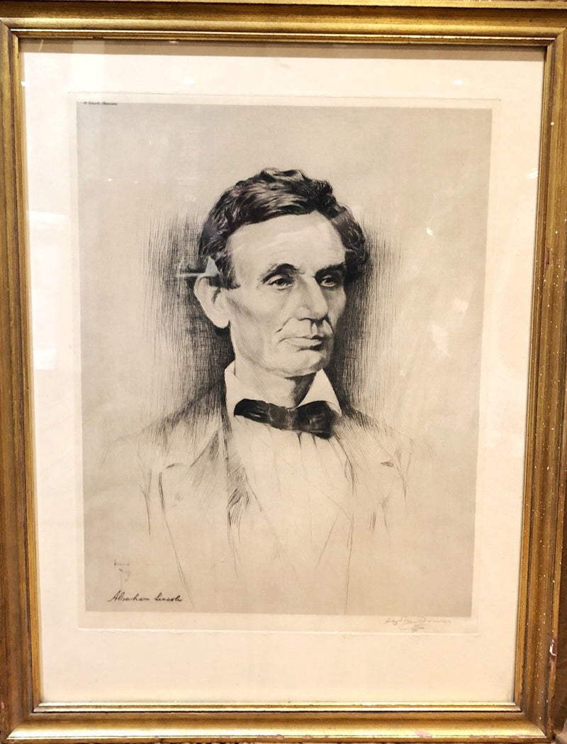 - Gloss Abraham Lincoln Photograph Historical Artwork from 1859 - 4 x 6