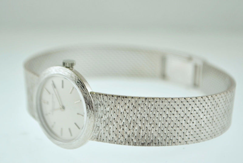VACHERON CONSTANTIN Lady's 18K White Gold Wristwatch w/ Original Bracelet - $30K VALUE