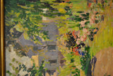 "1910 George Oberteuffer, ""Landscape Path"" Signed Oil Painting on Board - $40K VALUE"