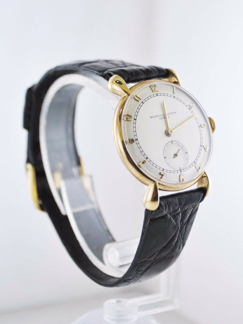 VACHERON CONSTANTIN Vintage Circa 1940's 18K Yellow Gold Wristwatch - $30K Appraisal Value! ✓