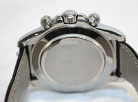 Contemporary Rolex Daytona Men's Chronograph Wristwatch in 18K White Gold with 8 Carats Paved Diamond - $200K VALUE