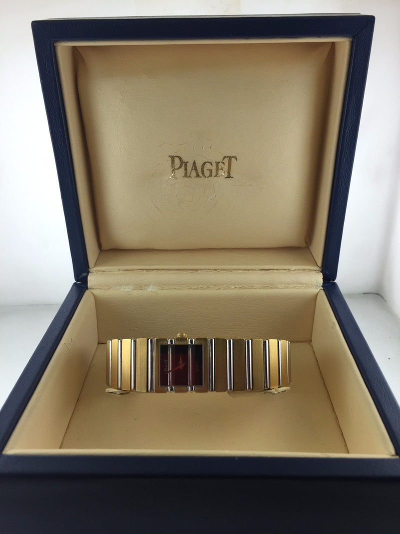 Piaget 18K Yellow Gold Polo Unisex Wristwatch with Special Black Onyx Dial - $40K VALUE