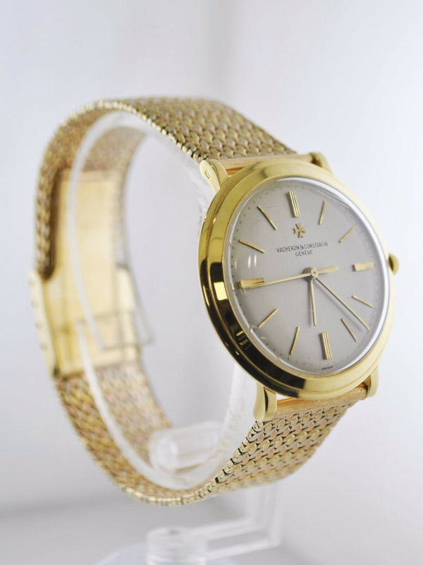 VACHERON CONSTANTIN Vintage Classic Three-Tone 18K Yellow Gold Men's Watch - Incredibly Rare Model - $50K Appraisal Value! ✓