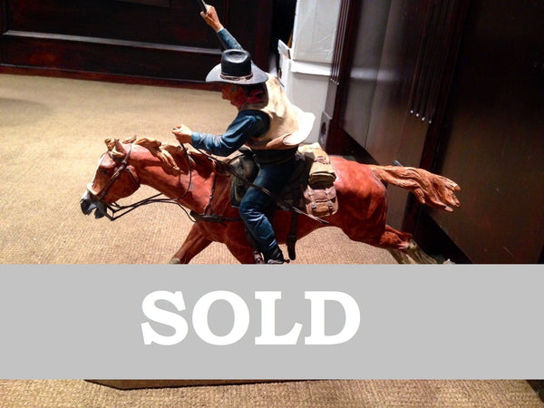 "Original Harry Jackson ""Marshall II"" Bronze Sculpture - $50K VALUE"