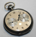 1920s Antique A. Lange & Söhne Pocket Watch in Silver - $40K VALUE, w/Cert!