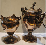 Four Antique Sterling Silver Service Pieces by Gorham circa 1873 - $30K VALUE