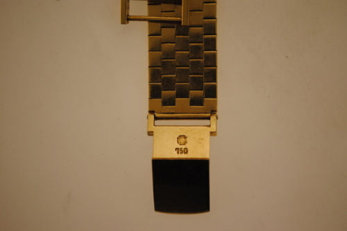ROLEX Vintage 1940s Lady's Solid Yellow Gold Square Watch - $20K VALUE