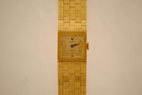 1940s Lady's Mechanical Rolex Watch in Solid Yellow Gold - $20K VALUE