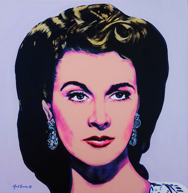 Jack Graves III, 'Scarlett O'Hara Icon (Vivien Leigh)', Icon Series 2020 - Apr Value: $3.5K*
