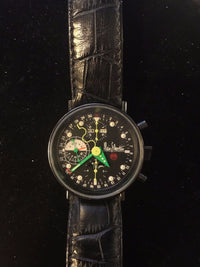 Original Alain Silberstein Krono 2 Wristwatch in Stainless Steel  - $15K VALUE