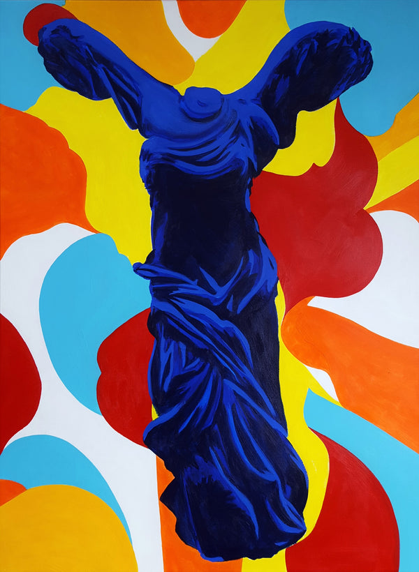 Jack Graves III, 'The Victory of Samothrace Icon (Yves Klein)', Icon Series 2019 - Apr Value: $5K*