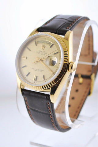 1969 Original Rolex Day-Date in 18K Yellow Gold with Gold Dial - $35K VALUE