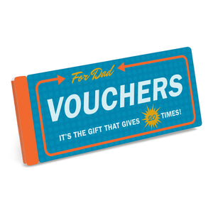 Vouchers for Dad - Knock Knock - Boxfli