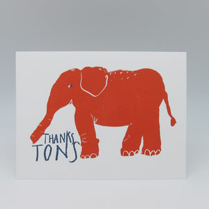 Elephant Thanks Tons