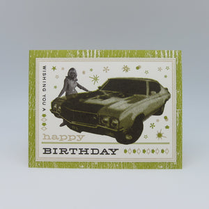 Bday Muscle Car