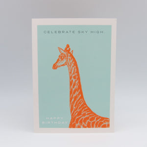Giraffe Birthday