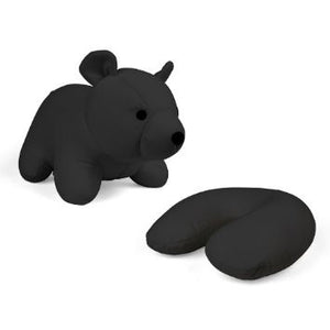 Zip and Flip Head Rest Black Bear - 1