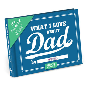 """What I Love About Dad"" Fill-In-The-Blank Book"
