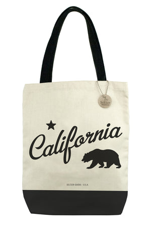 Canvas Tote CA Bear - 1