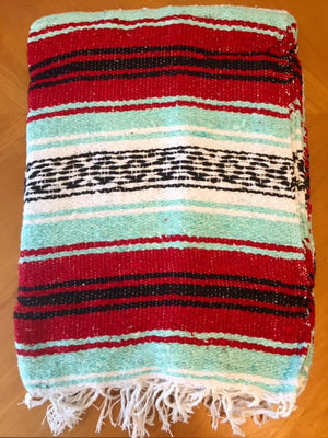 Falsa Blanket Mint/Red - 3