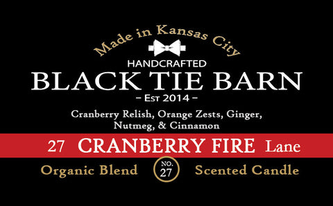 Cranberry Fire Lane - 7oz Jar