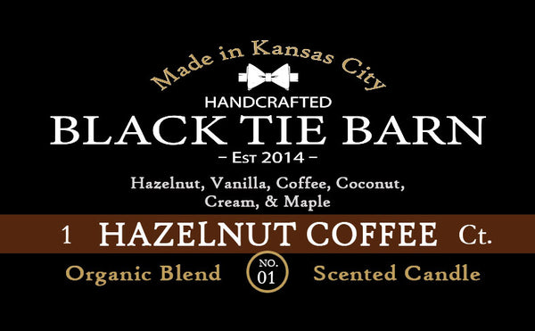 Hazelnut Coffee Ct - 7oz Mason Candle
