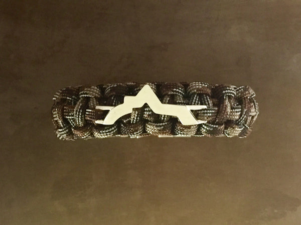 Wasatch Bracelet - Brown Camo