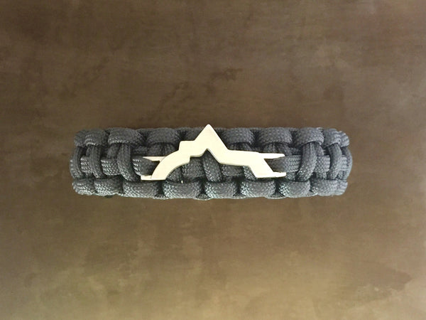 Wasatch Bracelet - Charcoal Grey