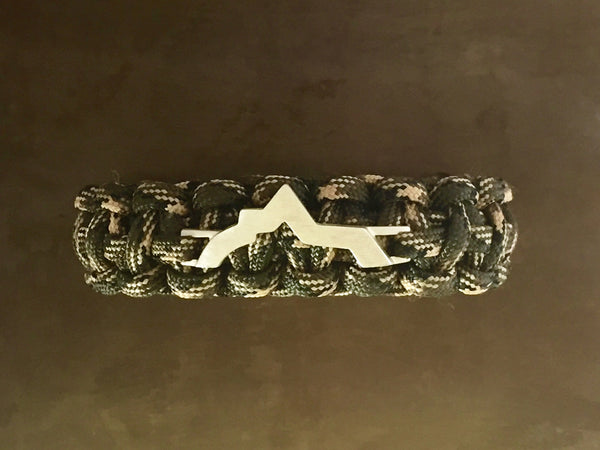 Wasatch Bracelet - Deep Woods Camo
