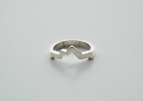 Lady's Sterling Silver Wasatch Ring