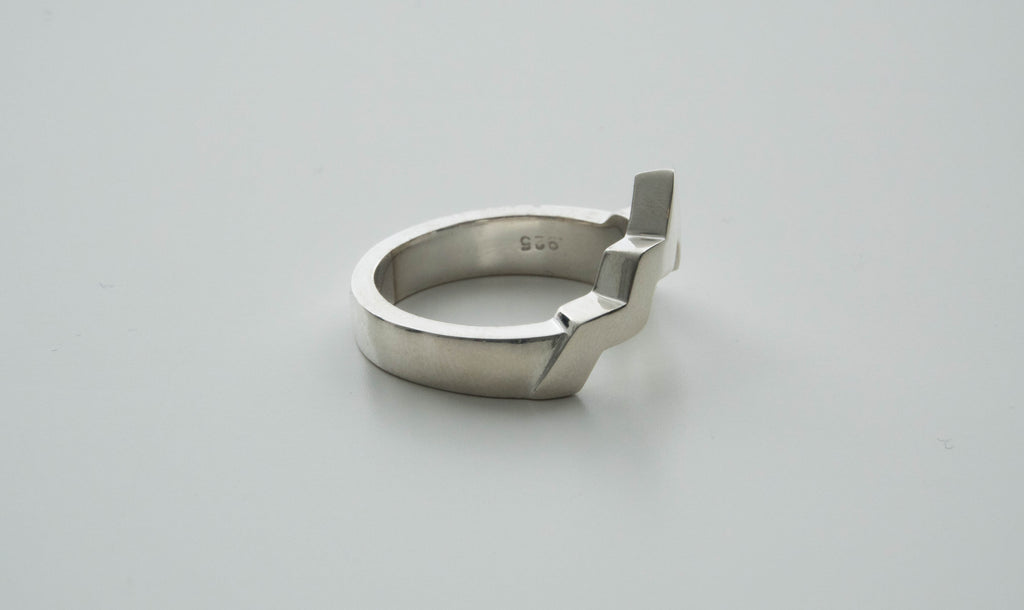 Men's Sterling Silver Wasatch Ring