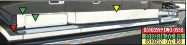 Volvo Truck 85103516 Access Door Trim