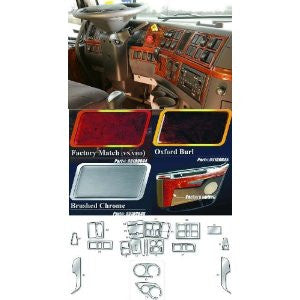 Volvo Truck 85109046 Interior Trim Kits Brushed Chrome
