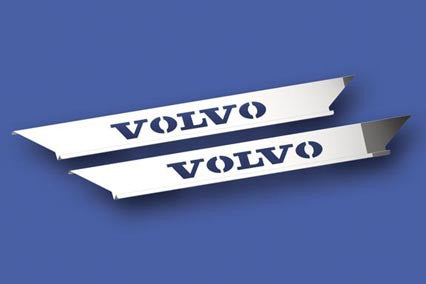 Volvo Truck Upper with Logo Scuff Panel