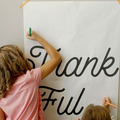 Thankful Poster