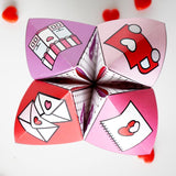 Valentine Cootie Catchers