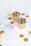 St. Patrick's Day Coloring Tablecloth