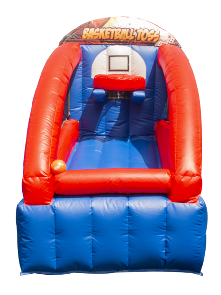 2020 Karnival Booth - Basketball Toss Inflatable Carnival Game