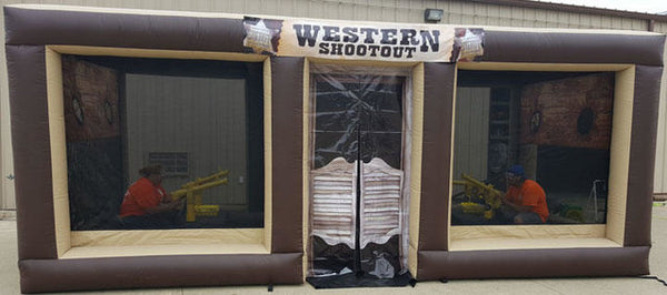 2019 Karnival Booth - Cannon Ball Shoot Out