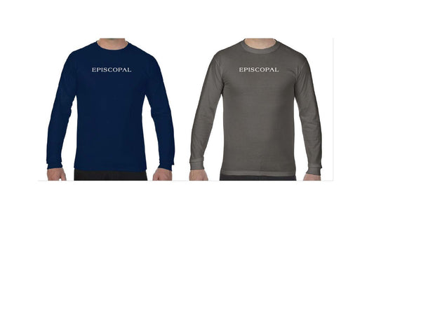 Adult Long Sleeve Garment Dyed Tee