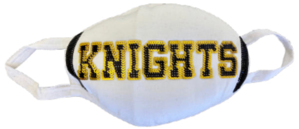 2020 Girls Sparkle City Knights Jersey Mask