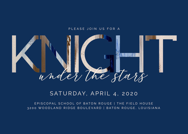 Copy of 2020 Knight Under the Stars Event Sponsorship