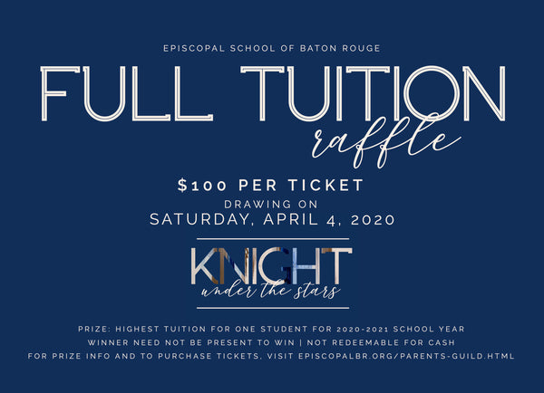 2020-2021 Tuition Raffle