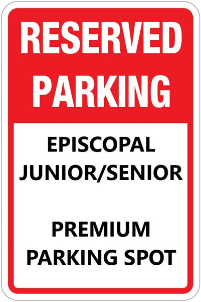 2020-2021 Junior/Senior Student Parking Raffle