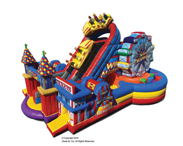 2020 Karnival Booth - Amusement Park Obstacle Course