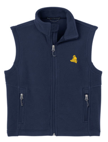 Fleece Vest in Youth & Adult Sizes - Uniform Approved